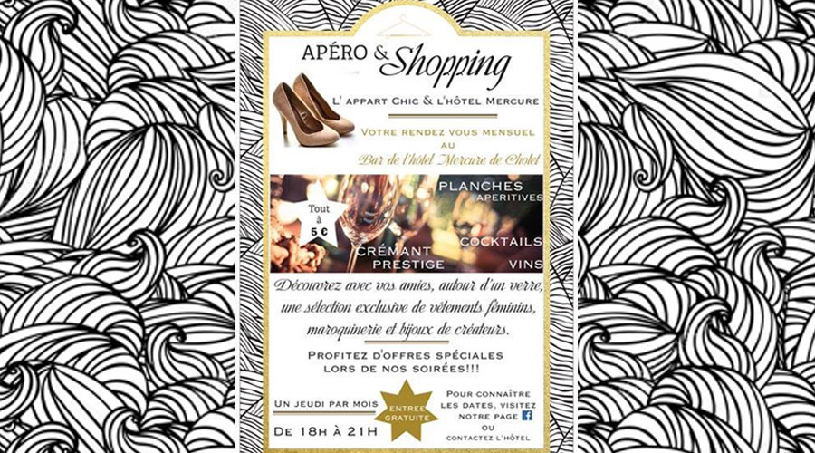 afterwork shopping hotel mercure cholet